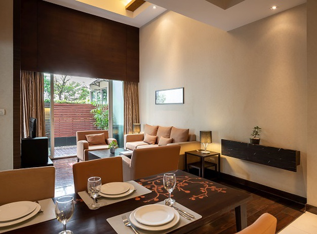 Pool residential suite Jasmine Resort Hotel en Bangkok