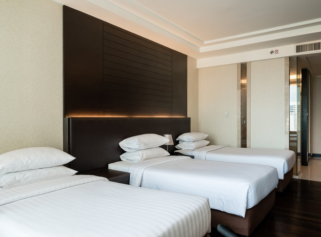 Triple single rooms Jasmine Resort Hotel en Bangkok