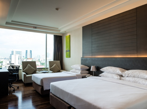Triple Room Jasmine Resort Hotel en Bangkok