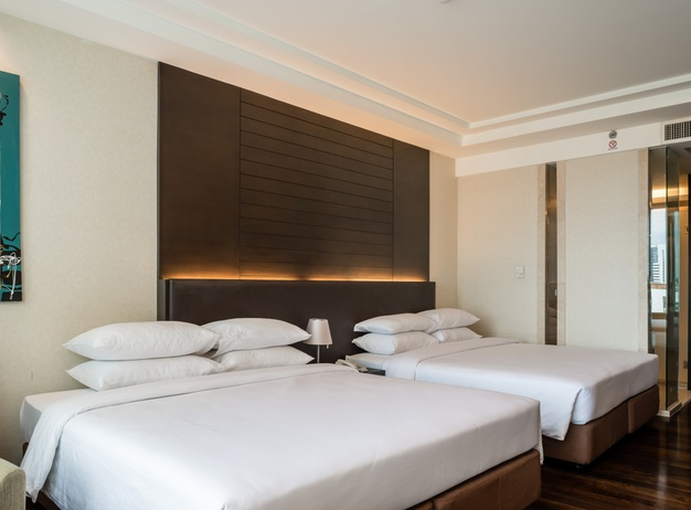 Quadruple room Jasmine Resort Hotel en Bangkok