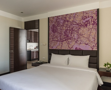 JUNIOR SUITES 1 BEDROOM Jasmine Grande Residence en Bangkok