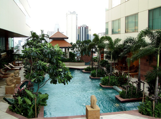 Pool Jasmine City Hotel en Bangkok